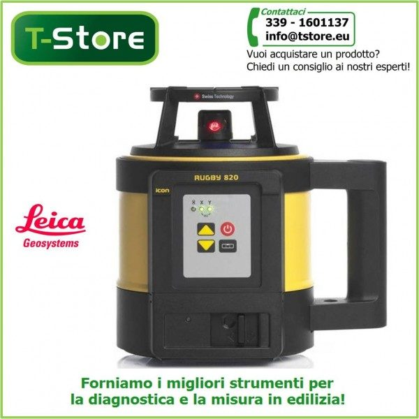 Livello laser Leica Rugby 820