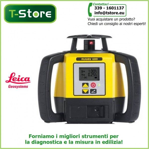Livello laser Leica Rugby 680