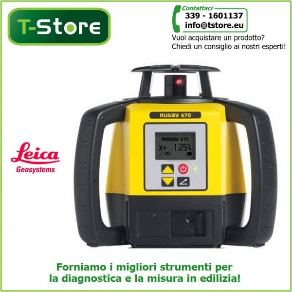 Livello laser Leica Rugby 670