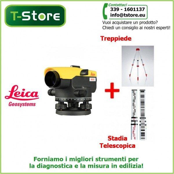 Bundle Leica NA332 + treppiede e stadia
