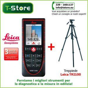 Disto D410 + Treppiede Leica TRI100